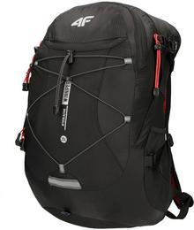 4f Plecak turystyczny PCF100 głęboka czerń D4L18-PCF100-one size-20S