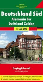 Freytag&Berndt Niemcy część południowa 1:500 000 Freytag & Berndt