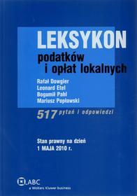 Leksykon podatków i opłat lokalnych 517 pytań i odpowiedzi