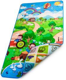 Bocioland BOCIOLAND Dwustronna Mata edukacyjna piankowa 100x180 cm WZÓR: FARMA BOC0800-FARMA
