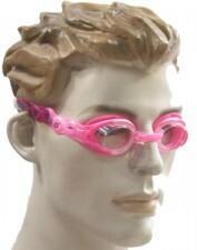 Speedo Okulary pływackie marki . Dostępne w kolorze: różowym, niebieskim oraz zie