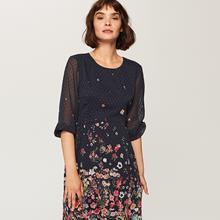 RESERVED Wzorzysta sukienka - Wielobarwn