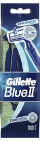 Gillette Jednorazowe maszynki do golenia, 9 + 1 szt. - Blue II Chromium Jednorazowe maszynki do golenia, 9 + 1 szt. - Blue II Chromium
