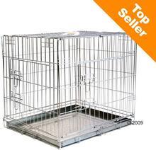 zooplus Exclusive Zestaw Klatka transportowa dla psa Double Door z wygodną poduszką M gł x szer x wys. 78 x 55 x 61 cm