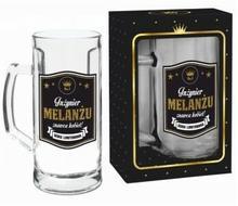 BGtech Kufel do piwa 500ml Gold Inżynier melanżu znawca kobiet! 332-00/OP-061-008/PL-4934