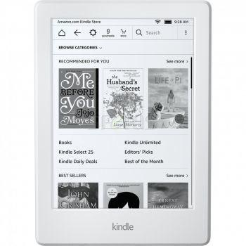 Amazon Kindle 8 Touch bez reklam biały