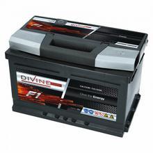 DIVINE F1 SMF 12V 80Ah 720A (EN) P+ F180