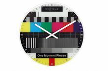 Nextime zegar ścienny Testpage 8607en