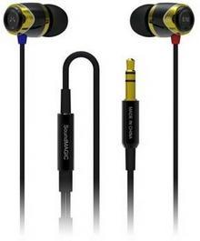 SoundMagic E10 Czarno-niebieskie