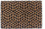 Colours Wycieraczka  Cube 40 x 60 cm czarny