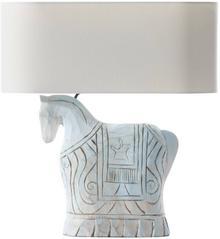 Dekoria Lampa stołowa Bahima 60cm 46x20x60cm 009-079