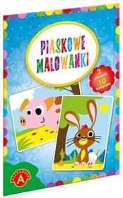 Alexander Piaskowe malowanki Świnka królik