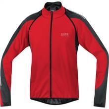 Gore Bike Wear Phantom 2.0 Soft Shell Windstopper kurtka rowerowa męska, wiatroodporna, z odczepianymi rękawami, JWPHAM, Red/Black, rozmiar M JWPHAM