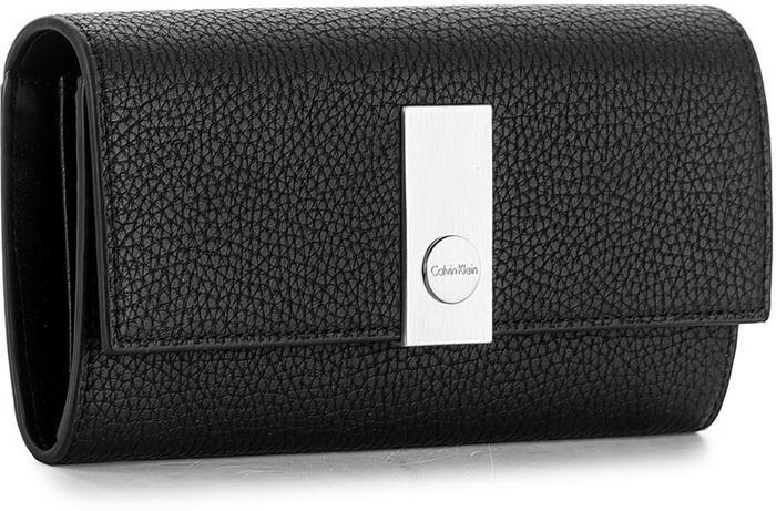 d808edad0fc58 Calvin Klein Black Label Duży Portfel Damski BLACK LABEL - Carrie Large  Trifold K60K603606 001 – ceny