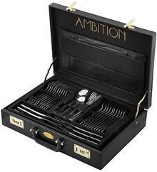 Ambition Prato 83844 sztućce 72 elementy walizka + PREZENT Enova33722
