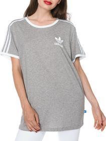 Adidas Originals Originals 3-Stripes Koszulka Szary 38 (160641)