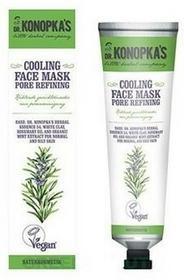 Dr. Konopka'sCooling Face Mask Pore Refining chłodząca maska do twarzy zmniejszająca pory 75ml 50365-uniw
