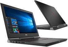 """Dell Inspiron 7577 15,6"""" FHD, Core i7, 1TB HDD, 256GB SSD, 32GB RAM, GTX1060, W10H"""