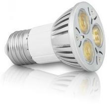 Whitenergy Żarówka LED MR16 E27 3W 230V 06956