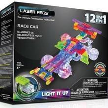 Laser Pegs 12 in 1 Race Car G870B
