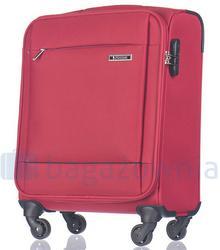 Puccini Mała kabinowa walizka PARMA EM50720C 3 Czerwona - czerwony