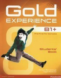 PEARSON Gold Experience B1+ Students Book + DVD - Carolyn Barraclough, Megan Roderick