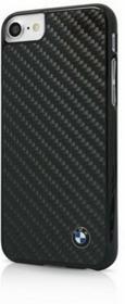 BMW Real Carbon Fiber - Etui iPhone 7 (czarny) BMHCP7MBC