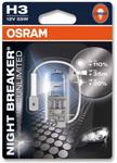 OSRAM H3 12V 55W PK22s NIGHT BREAKERR UNLIMITED