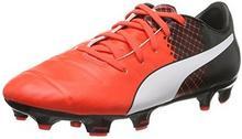 Puma Buty piłkarskie evoPOWER 1.3 Tricks FG Jr dla dzieci, kolor: czerwony, rozmiar: 34 B015Y7E05E