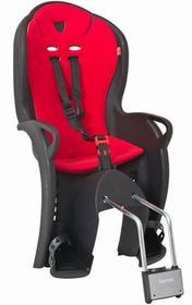 Hamax Fotelik rowerowy KISS Czarna/Czerwona