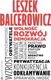 Leszek Balcerowicz Wolność rozwój demokracja e-book)