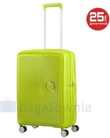 Samsonite AT by Średnia walizka AT SOUNDBOX 88473 Limonkowa - limonkowy