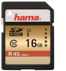 Hama SDHC Class 10 UHS-I 16GB