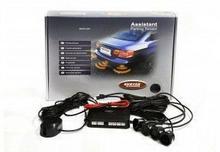 Vertex Czujniki parkowania Basic czarne 4 sensory