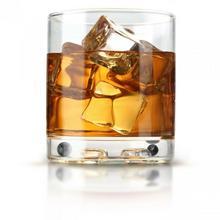 Invotis Szklanka do drinków z grą zręcznościową Clink!, 8x8x8,7 cm