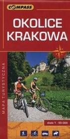 Wydawnictwo Compass Okolice Krakowa Mapa turystyczna 1:55000 - Praca zbiorowa