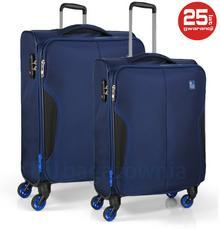 Roncato Zestaw walizek Jet 5531-23 Granatowe - granatowy 42553123