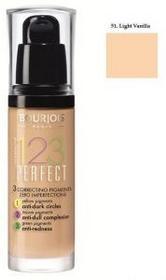 Bourjois 123 Perfect Foundation podkład ujednolicający 51 Light Vanilla 30ml
