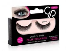 Golden Rose False Eyelashes Rzęsy w Paskach 01 K-GTK-01