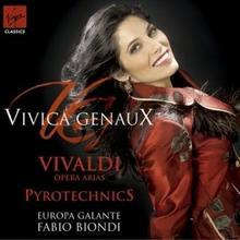 Pyrotechnics Opera Arias CD) Vivica Genaux