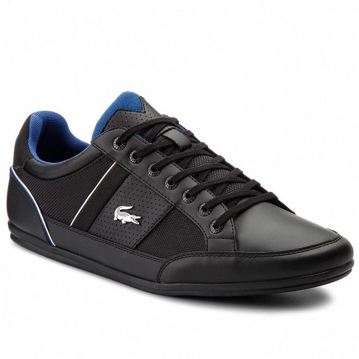 Lacoste Sneakersy Chaymon 218 1 CAM 7-35CAM00131Z2 Blk Dk Blu - Ceny i  opinie na Skapiec.pl 0fc95a363d
