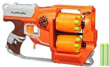Hasbro pistolet ZOMBIE Strike Flipfury z 2 bębnami