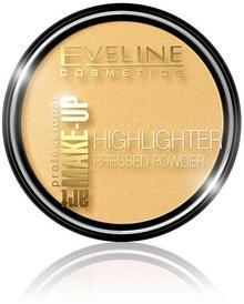 Eveline Art Make-Up, puder rozświetlający do twarzy i ciała 55 Golden, 12 g