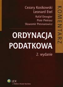 Ordynacja podatkowa Komentarz Wyd 2