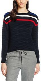 Le Mont Saint Michel sweter damski - m niebieski (granatowy) B01M14NHZ6