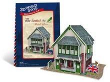 Cubicfun PUZZLE 3D Domki świata Wielka Brytania Sandwich Shop 491978