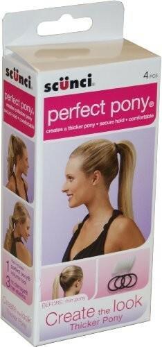 Scunci Perfect Pony gumka do włosów idealny kucyk 490698U