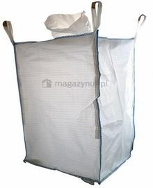 Worek BIG BAG 5. 4 uchwyty, wym. 900x900x1200mm (Ładowność 1000 kg)
