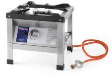 Hendi Taboret gazowy Kitchen Line | 6,4kW | 425x425x(H)400mm 7801
