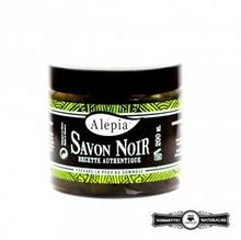 Alepia czarne mydło peelingujące Savon noir 302-0